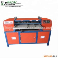 Manufacturer Provide Scrap Copper Wire Radiator Stripping Ac Radiator Recycling Machine Copper And A